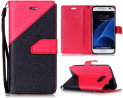 Wallet Case Rot zu Samsung S7 Edge