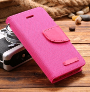 Wallet Case Rosa zu iPhone 5/5S/SE