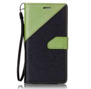 Wallet Case Grün zu Samsung S7 Edge