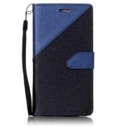 Wallet Case Blau zu Samsung S7 Edge