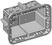UP-Schalungskasten Agro 250x180x120mm